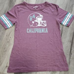 """Old Navy """"California"""" Football Helmet Shirt"""